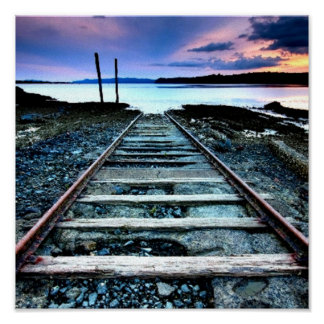 素朴な鉄道 ポスター