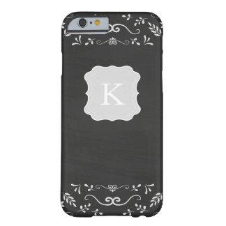 素朴な黒板の華麗さのデザイン BARELY THERE iPhone 6 ケース