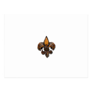 素朴な(紋章の)フラ・ダ・リFlorニュー・オーリンズ ポストカード