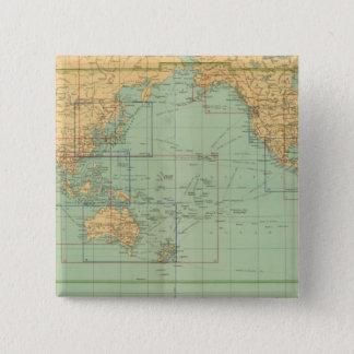 索引図の新しい商業海兵隊員の地図書 5.1CM 正方形バッジ