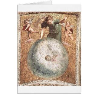 索引車、Raphaelによる「連della Segnatura」の カード