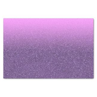 紫外およびピンクのグラデーションで模造のなグリッター 薄葉紙
