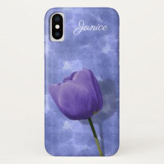 紫外チューリップのiPhone Xの場合 iPhone X ケース
