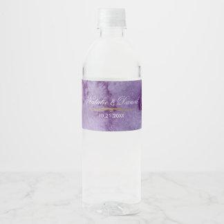 紫外水彩画の結婚式 ペットボトルラベル