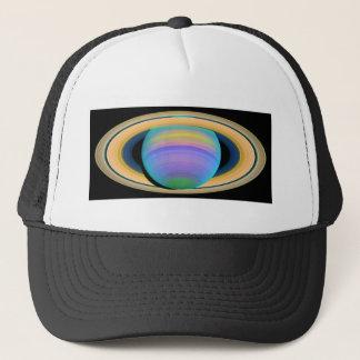紫外線に見られるように惑星の土星の環 キャップ