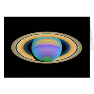紫外線の惑星の土星の環 カード
