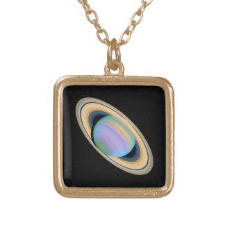 紫外線の惑星土星 カスタムジュエリー