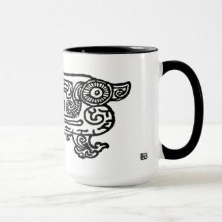 紫禁城のドラゴン15ozのコンボのマグ マグカップ
