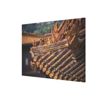 紫禁城の建築詳細、 キャンバスプリント