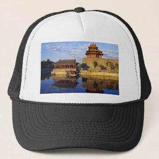 紫禁城、北京の中国の角タワー キャップ