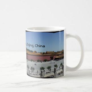 紫禁城、北京の中国 コーヒーマグカップ