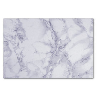 紫色および白い大理石のデザイン 薄葉紙
