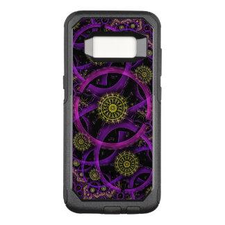 紫色および金円 オッターボックスコミューターSamsung GALAXY S8 ケース