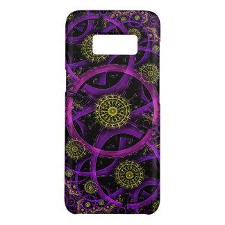 紫色および金円 Case-Mate SAMSUNG GALAXY S8ケース