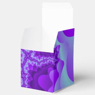 紫色および青の泡珊瑚のフラクタルデザイン フェイバーボックス