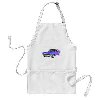紫色および青の1968 AM筋肉車 スタンダードエプロン