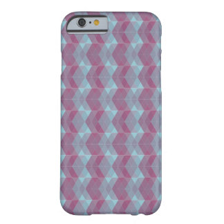 紫色および青 BARELY THERE iPhone 6 ケース