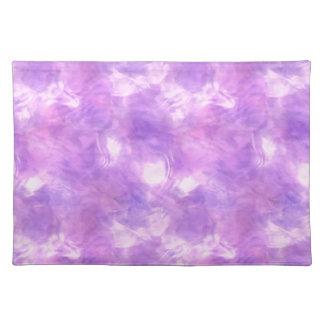 紫色でかわいらしい! ~ ランチョンマット