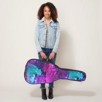 紫色で溶けること ギターケース