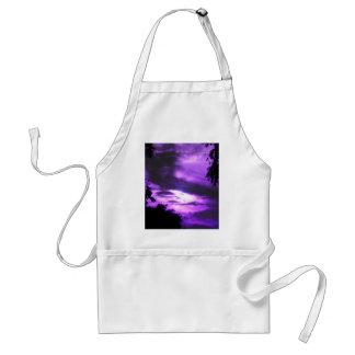 紫色によって曇らせている空 スタンダードエプロン
