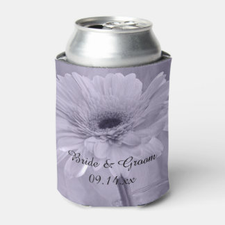 紫色によって染められるデイジーの結婚式の引き出物 缶クーラー
