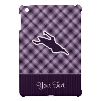 紫色にカヤックを漕ぐこと iPad MINIケース