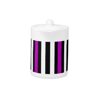 紫色のお洒落な黒
