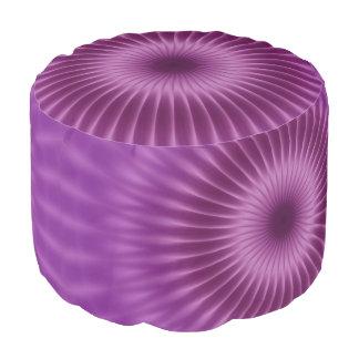 紫色のかわいらしい光線 + あなたのアイディア プーフ