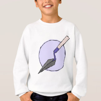 紫色のこて-考古学者の工具セット スウェットシャツ