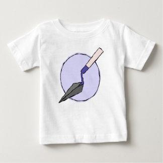 紫色のこて-考古学者の工具セット ベビーTシャツ