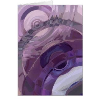 紫色のさざ波 カード