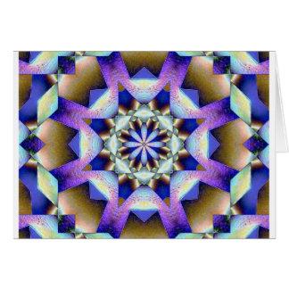 紫色のしぶき カード