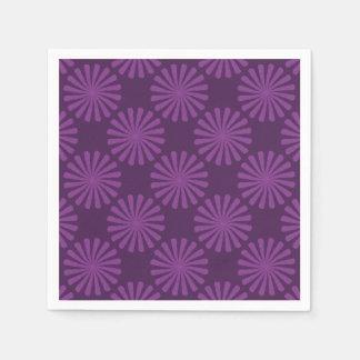 紫色のにんじん スタンダードカクテルナプキン