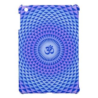 紫色のはすの花の黙想の車輪OM iPad MINIケース