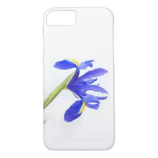 紫色のアイリス花 iPhone 7ケース