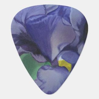 紫色のアイリス ギター用ピック