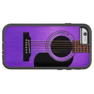 紫色のアコースティックギター TOUGH XTREME iPhone 6 ケース