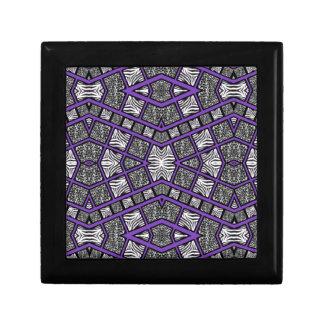 紫色のアニマルプリントの抽象芸術 ギフトボックス