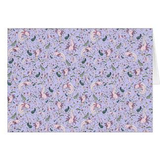 紫色のアホロートル カード