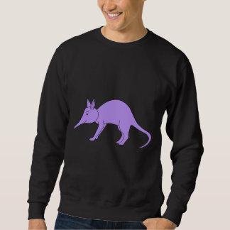 紫色のアリクイ スウェットシャツ
