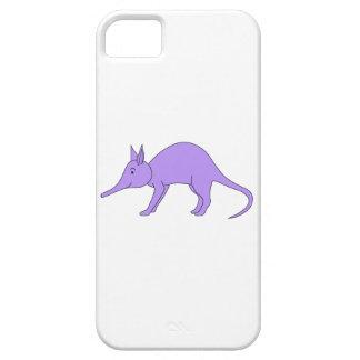 紫色のアリクイ iPhone SE/5/5s ケース