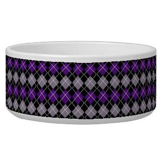 紫色のアーガイル
