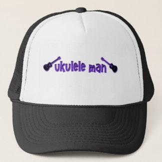 紫色のウクレレ キャップ