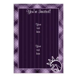 紫色のエジプトのピラミッド カード