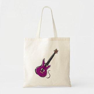 紫色のエレキギター音楽graphic.png トートバッグ