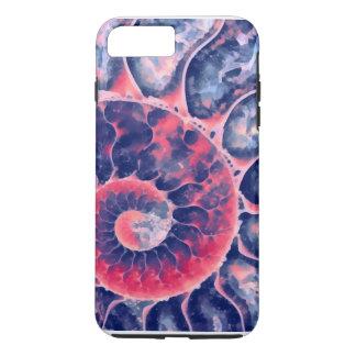 紫色のオウムガイ iPhone 8 PLUS/7 PLUSケース