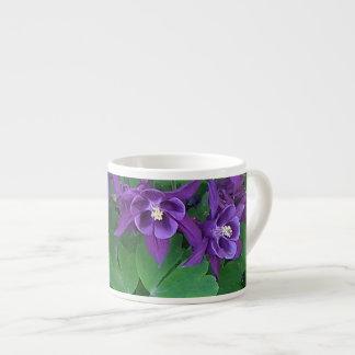 紫色のオダマキ(植物) -エスプレッソのマグ エスプレッソカップ