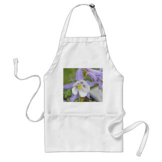 紫色のオダマキ(植物) スタンダードエプロン