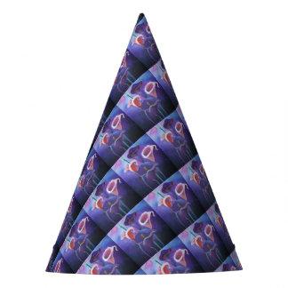 紫色のオランダカイウ パーティーハット