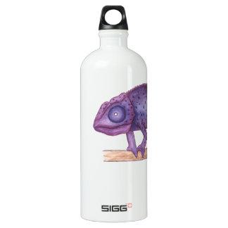 紫色のカメレオン ウォーターボトル